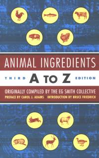Animal Ingredients A to Z [ 321.74 Kb ]