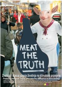 Poster for the movie 'Meat the Truth' projection [ 87.03 Kb ]