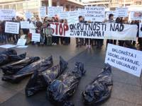 Protest for the implementation of the Animal Protection Act 9 [ 163.87 Kb ]