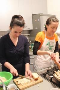 Cooking workshop, 6th December 2014