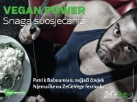 Patrik Baboumian - Vegan Power poster [ 48.06 Kb ]