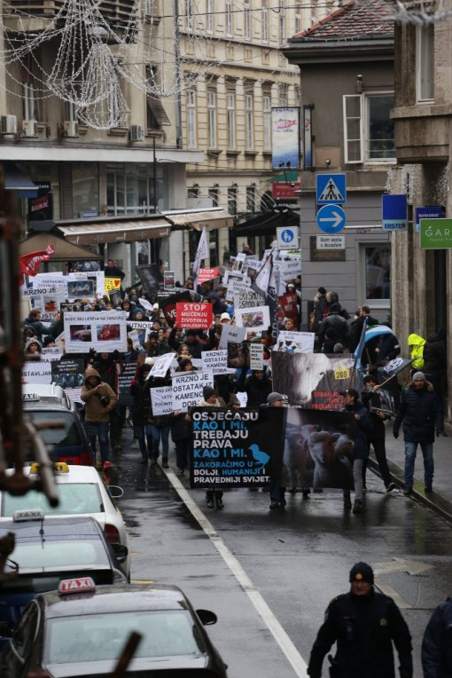 March for animals, photo: Jelena Rasic [ 419.21 Kb ]