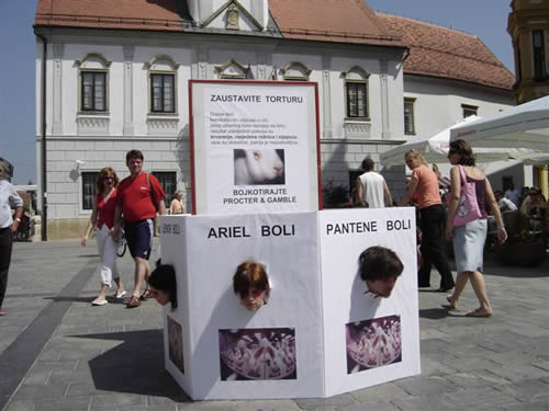 Blind because of beauty - Varazdin 1