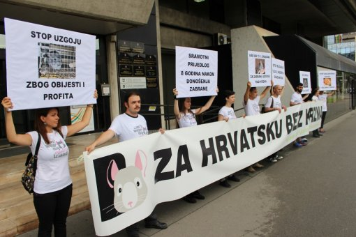 Protest in front of Ministry of Agriculture - 9th July 2015 [ 185.64 Kb ]