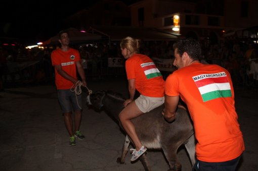 Jackass on a donkey - Photo: Tris/H. Pavic [ 153.97 Kb ]